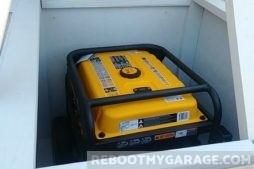 Firman Generator in the new shed