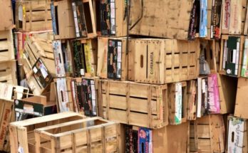 Stacks of boxes