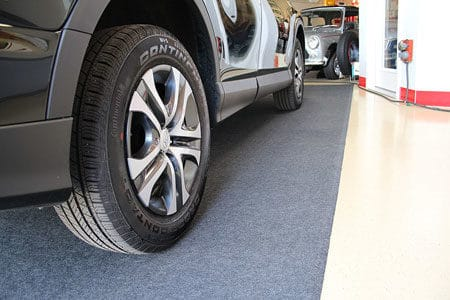 Dry floors are less likely to pit and crack