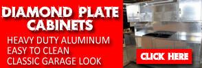 Diamond Plate Cabinets
