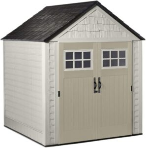 7 ft. x 7 ft. polyresin shed