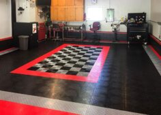 Make a GarageTrac floor for your motorcycle