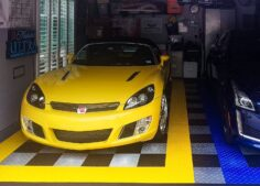 This GarageTrac tile floor is really nice for the price