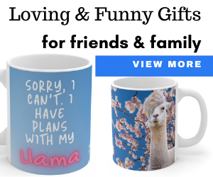 Sorry, I Can't. I'm Going Surfing with My Llama, 11 oz. Coffee Mug Llama Gift