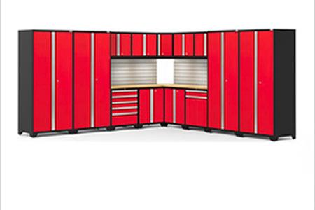 16 piece garage cabinet set
