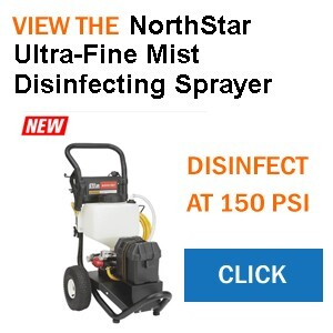 Disinfect and Protect with a NorthStar Ultra-Fine Mist Disinfecting Sprayer