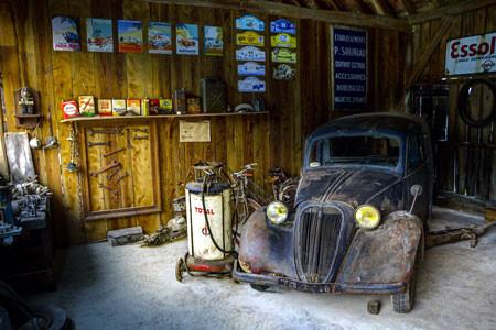 Moisture rusts cars