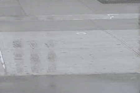 Water on concrete