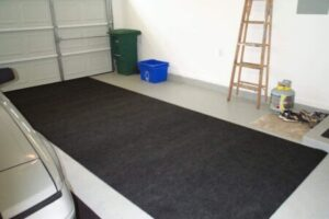 "At this size, there's no much difference between and ""oil mat"" and a ""parking mat."""